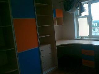 Мебель для детской.Вставки МДФ в ПВХ плёнке.