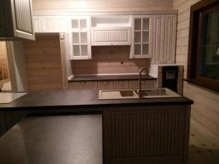 Кухня на заказ. Столешница фирмы SLOTEX.