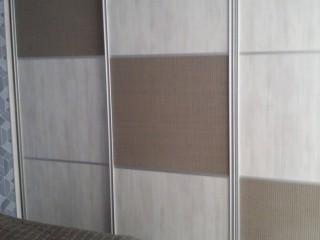 Шкаф-купе.Вставки в дверях - Rattan.