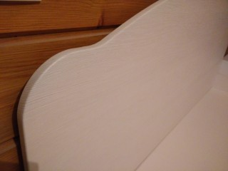 Мебель для спальни.Спинка кровати из МДФ в ПВХ плёнке.